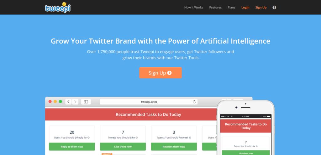tweepi social media tool