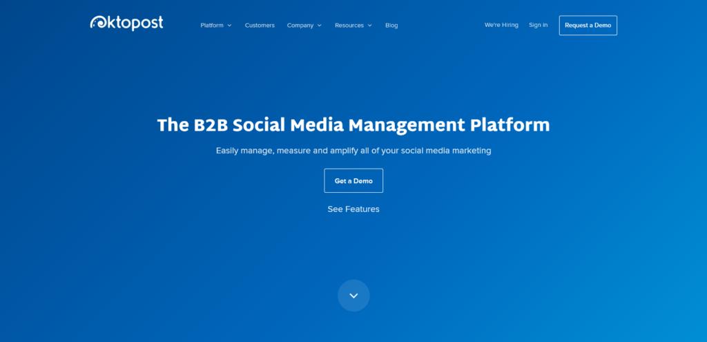 okto post social media tool