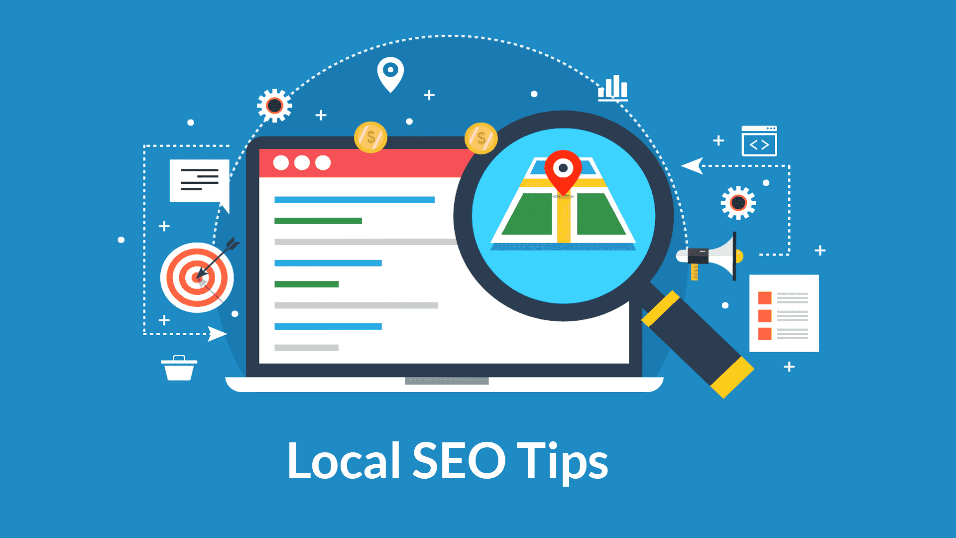 Local SEO: Learn to win your local businesses.
