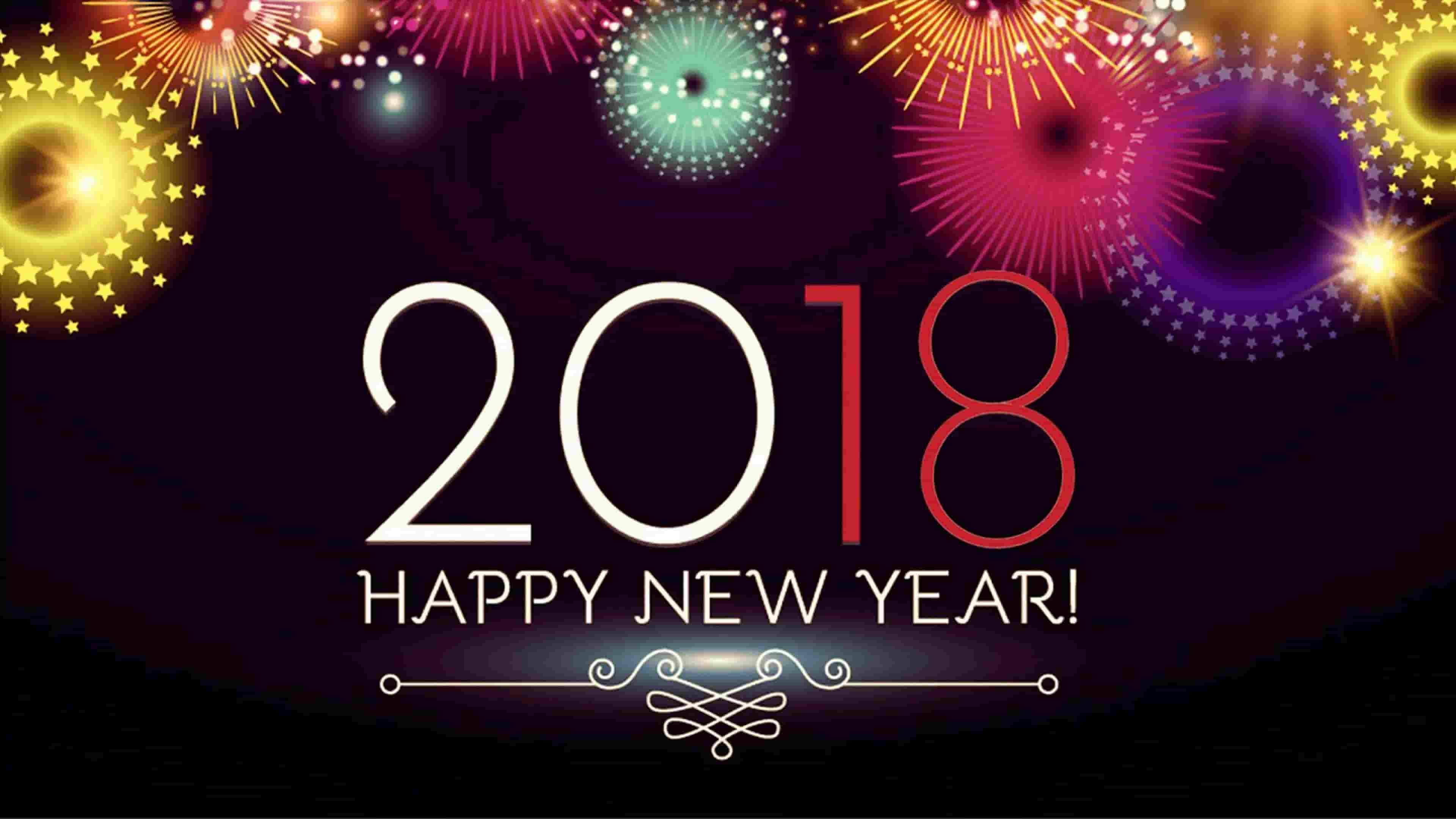 Wishing A New Year 2018!